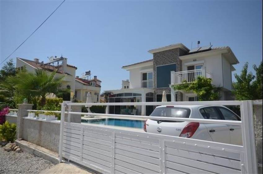 V0145 Stunning 3 Bedroom Villa for Sale in Çalış