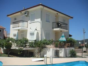 V0029 4 bed detached villa  in Ovacik private grounds.